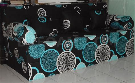 Kasur Inoac Malang sofa bed inoac moon hitam pelengkap furniture anda