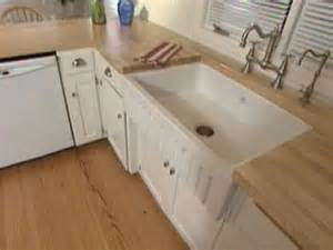 How To Install A Farmhouse Kitchen Sink Installing An Apron Front Sink