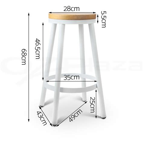 Stackable Wooden Bar Stools by 4x Danny Industrial Bar Stool Stackable Barstool Dining