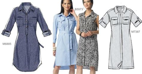 pattern for shirt dress shirtdress sew along getting the fit right mccalls social