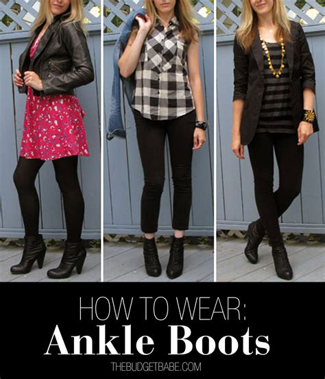 three ways to wear ankle boots the budget