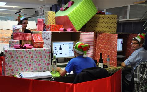 design bridge christmas desk decoration competition flickr