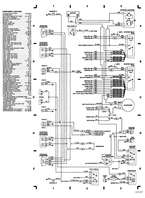 1989 jeep wrangler wiring diagram jeep yj wiring harness