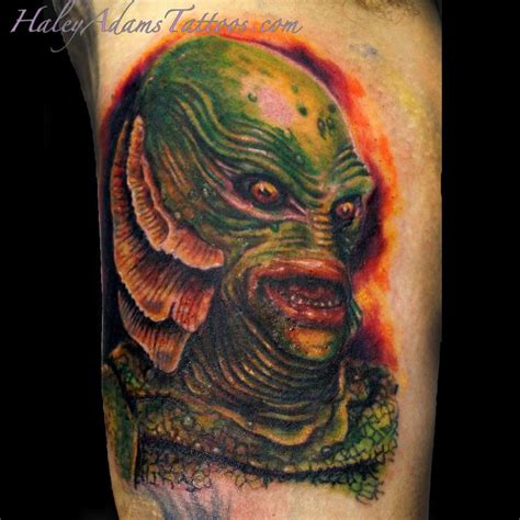 black lagoon tattoo creature of the black lagoon by