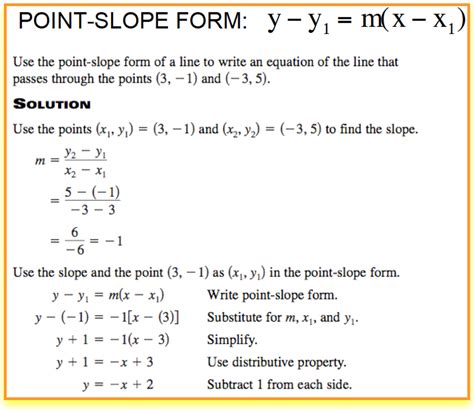 Point Slope Form Worksheet by Point Slope Form Worksheet Deployday