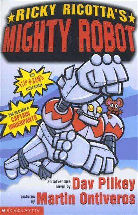 ricky ricotta his mighty robot biography