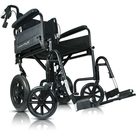 airgo comfort plus transport chair airgo 174 comfort plus xc premium lightweight transport chair
