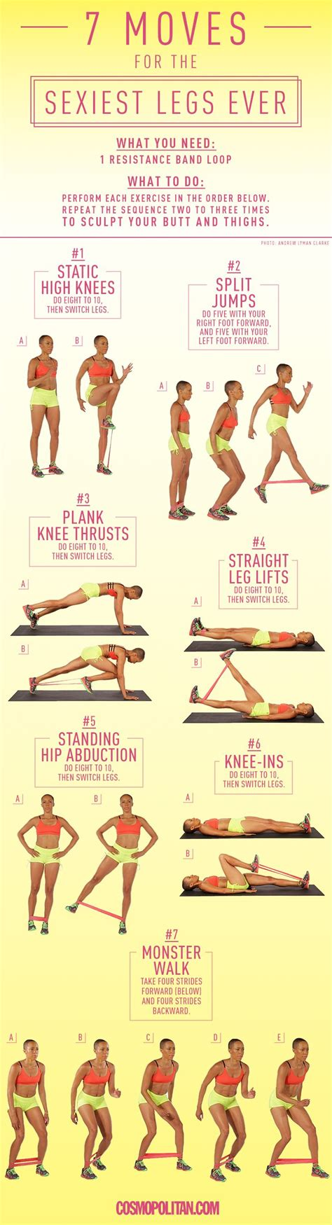 25 best ideas about stretch band exercises on
