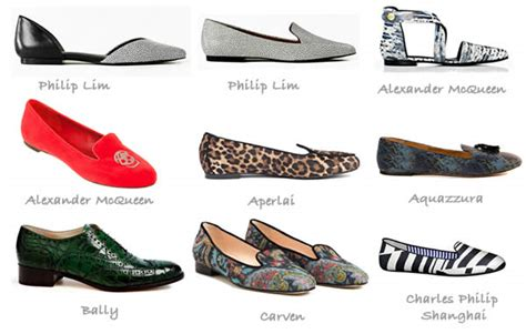 flat shoes styles flat shoe trends for fall 2012 the best shoes for