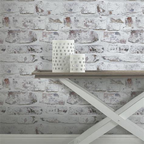 white brick wall wallpaper wall decor arthouse whitewashed wall white 33 5 x 22 quot brick