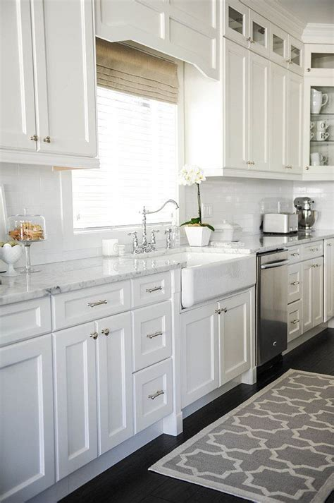 white on white kitchen designs 25 best ideas about white kitchen decor on pinterest