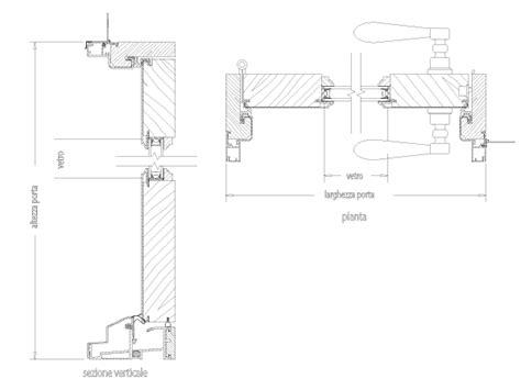 porte esterne dwg porte legno particolare costruttivo free dwg file