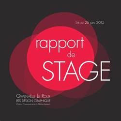 doc couverture rapport de stage word