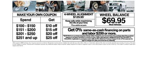 bmw service coupons coconut creek florida bmw dealership vista bmw