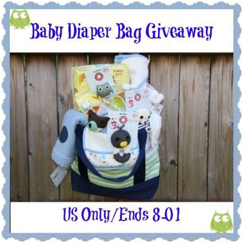 Diaper Bag Giveaway - diaper bag giveaway packed full of baby essentials