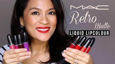 Mac Retro Matte mac retro matte liquid lipcolor