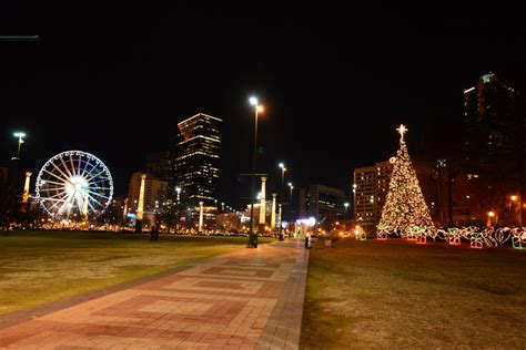 christmas tree atlanta top 5 places to see lights in atlanta atl list