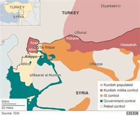 Turkey Syria Map by Pundita Bbc Reports Kurds Haven T Captured Azaz Why