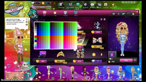 how to get party curls on msp moviestarplanet party clothes ideas youtube