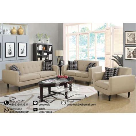 Sofa Ruang Tamu Surabaya set sofa tamu retro felix createak furniture createak