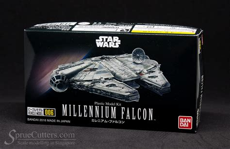 Vehicle Model 006 Millenium Falcon wars millennium falcon bandai vehicle model 006 spruecutters