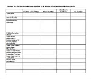 vendor contact information template contact list template 14 free documents in pdf