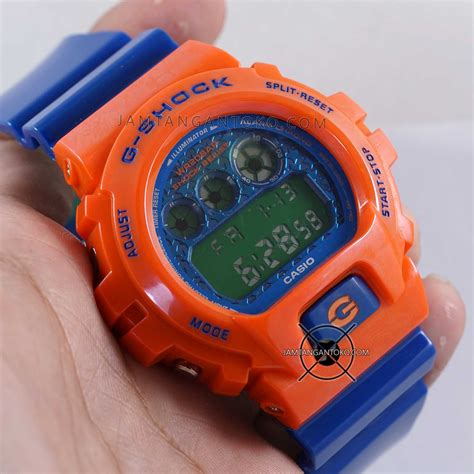 Jam Tangan Dw Colour jam tangan g shock ori bm dw6900sc 4 orange biru hijau
