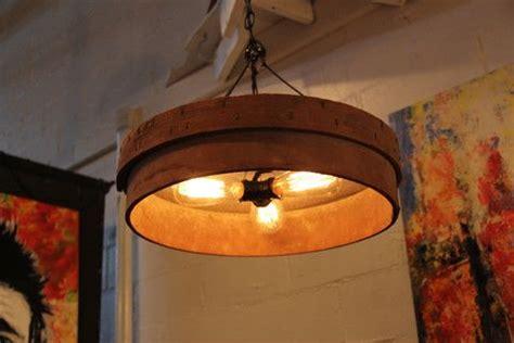 primitive kitchen lighting vintage grain sifter