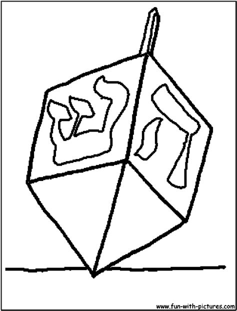 free coloring pages of dreidel