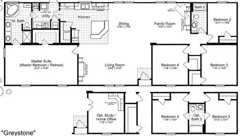 floor plans for site built mobile and modular homes san