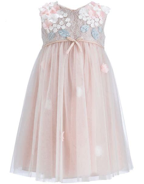 Baby Lilly Dress Wedding Dress from Monsoon Flower Girls