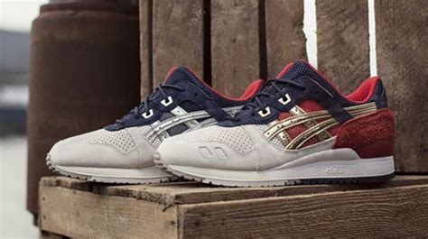 Concept X Asics Gel Lyte Iii Boston Tea see how the cncpts x asics gel lyte iii boston tea looks on sole collector