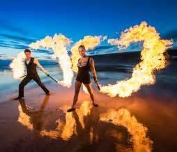 fire swinging fire swing fire stage show bristol south west uk
