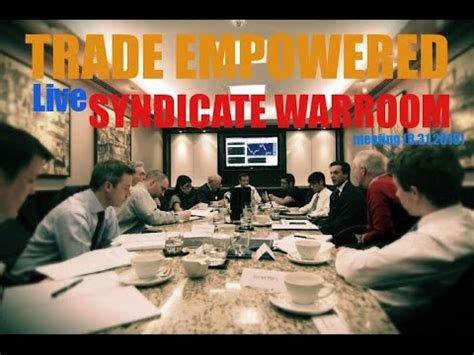what is a war room meeting forex trading trade empowered war room meeting 8 31 2015