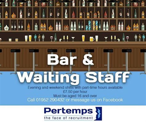 part time evening weekend work telford live
