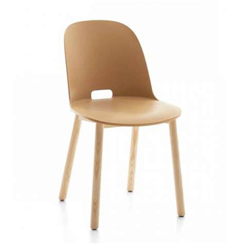 emeco sedie emeco alfi chair high back sedia con schienale alto