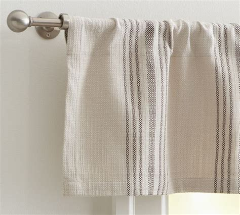 French Stripe Cafe Curtain Curtains Pinterest