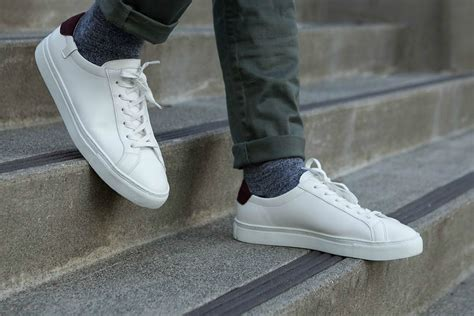 best white sneakers mens 20 best all white sneakers for gearmoose