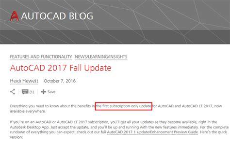 autocad full version price autocad2017 1subscriptiononly cad nauseam