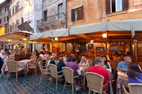 dinner opensquare rome a romantic breeze by rick steves