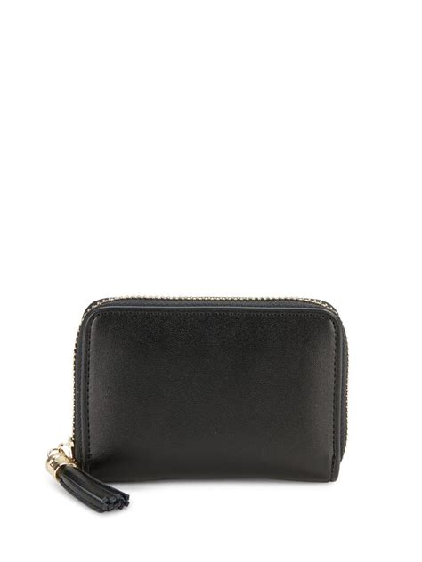 Tasseled Wallet saks fifth avenue tasseled leather zip around wallet in