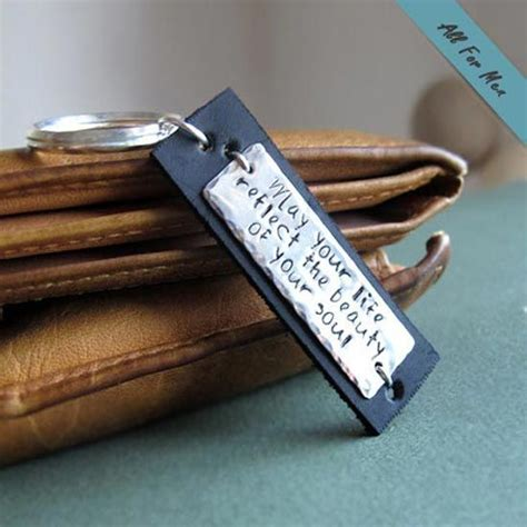 28 best personalized keychains custom engraved leather