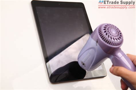 Hair Dryer Screen Repair how to fix a cracked air screen