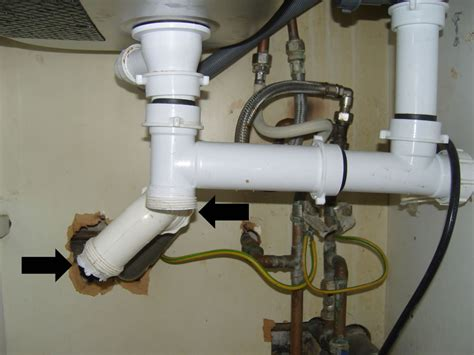 bathroom sink pipes how to install plumbing under kitchen sink archives