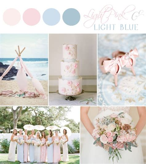 light pink color palette 25 best light blue weddings ideas on pinterest pastel