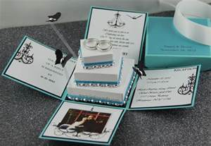 wedding invites in a box jinky s crafts designs december 2012