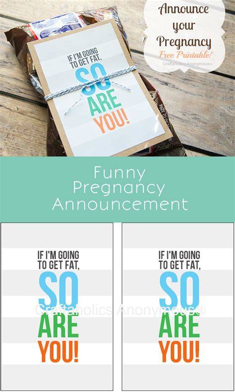 printable pregnancy announcements templates craftaholics anonymous 174 free printable to announce pregnancy