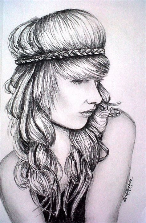 Drawing Of A With Braids by 31 Best Images About Hair Drawings On