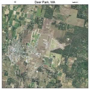 aerial photography map of deer park wa washington