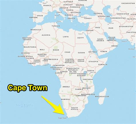 africa map cape of cape town south africa map adriftskateshop